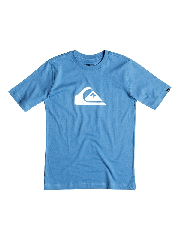 0 Boy's 8-16 Mountain & Wave Logo Tee  AQBZT03038 Quiksilver