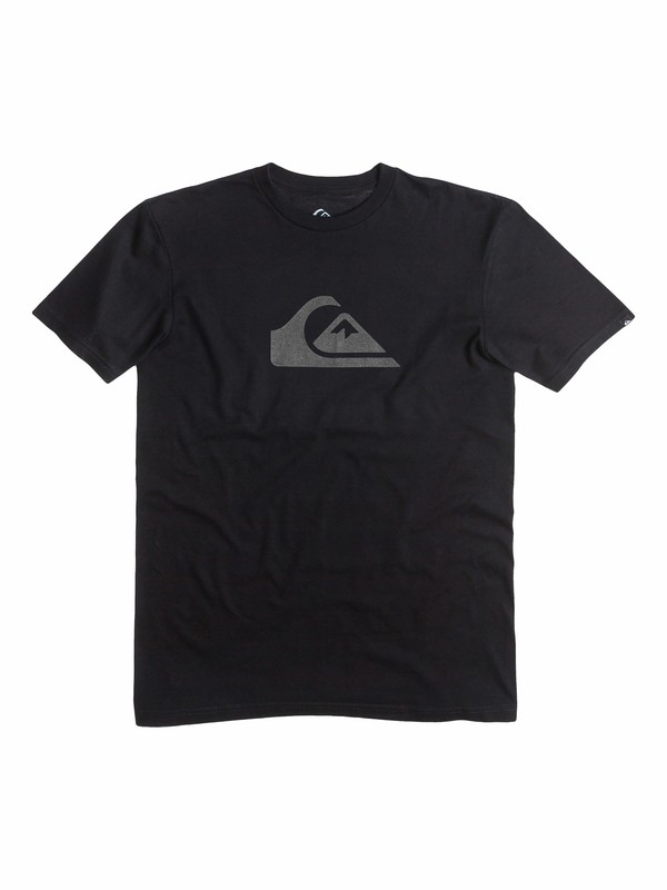 0 Everyday Logo Core - T-Shirt  AQBZT03058 Quiksilver