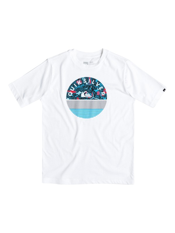 0 Boys 8-16 Extinguished Tee  AQBZT03062 Quiksilver