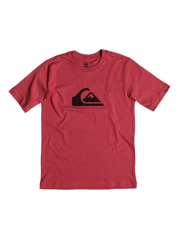 0 Boy's 8-16 Mountain & Wave Logo Tee  AQBZT03083 Quiksilver
