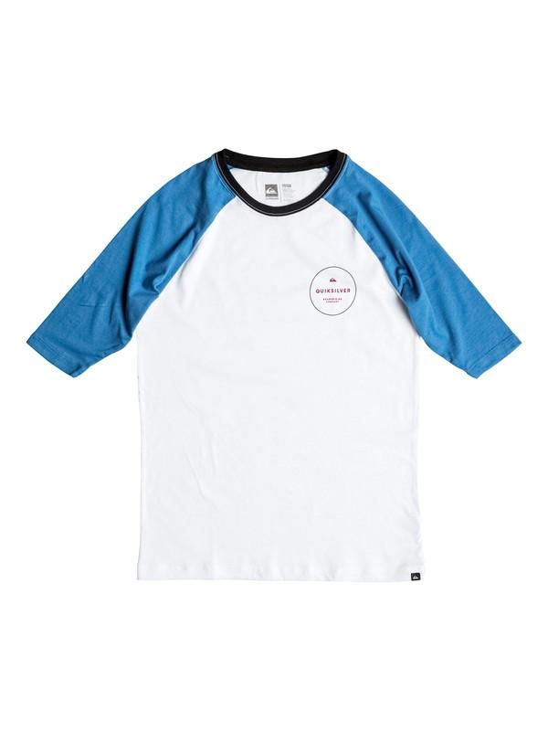 0 Niños 8-16 Camiseta Manga Larga  con Cortes Raglan  AQBZT03109 Quiksilver