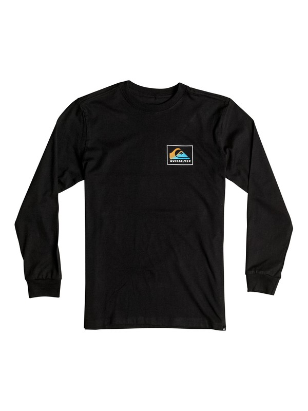 0 Boy's 8-16 Heat Wave Long Sleeve Tee  AQBZT03116 Quiksilver