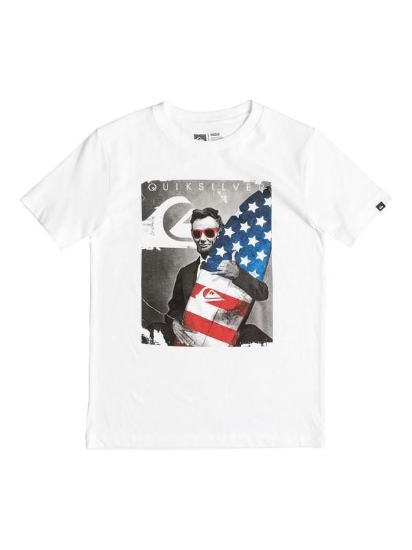 0 ABE - T-Shirt  AQBZT03132 Quiksilver