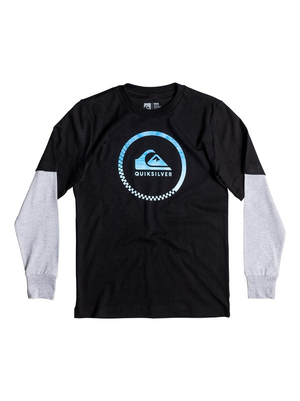 0 Boy's 8-16 Slash Active Tee  AQBZT03161 Quiksilver