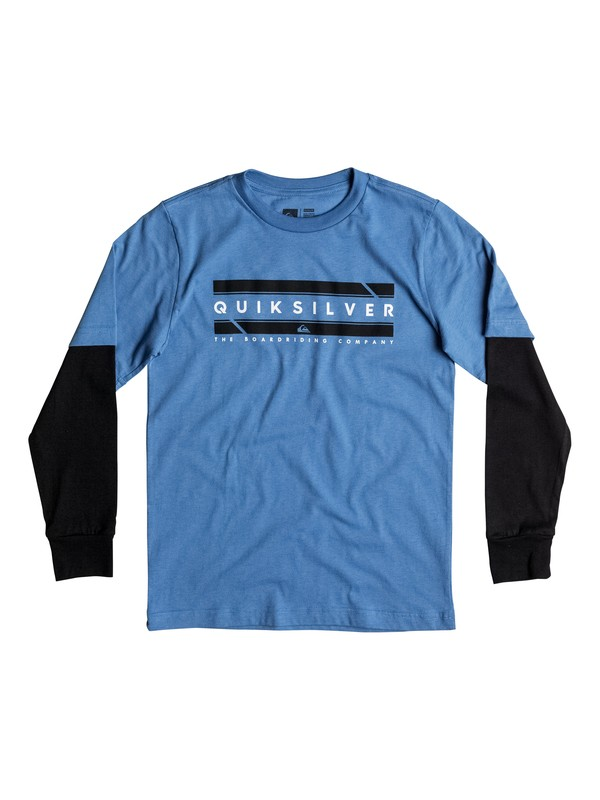 0 Boy's 8-16 In Da Box Tee  AQBZT03162 Quiksilver