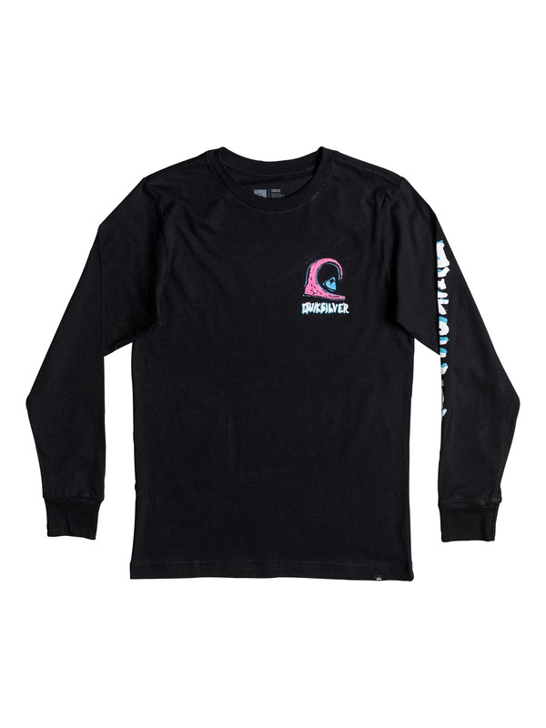 0 Boy's 8-16 Action 1 Long Sleeve Tee  AQBZT03173 Quiksilver