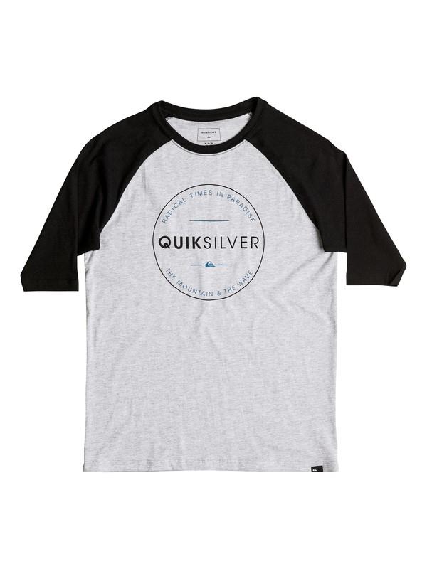 0 Free Zone Raglan - T-Shirt  AQBZT03207 Quiksilver