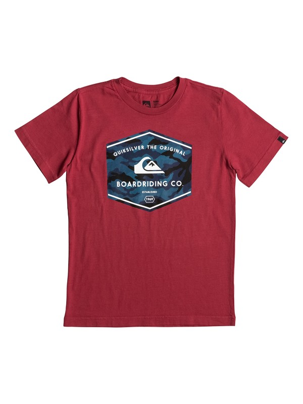 0 Boy's 8-16 The Og Dos Tee  AQBZT03211 Quiksilver