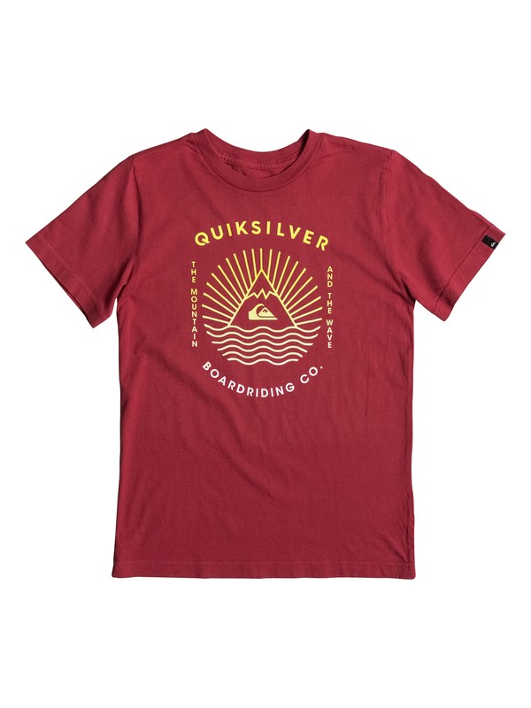 0 Boy's 8-16 The MTW Tee  AQBZT03218 Quiksilver