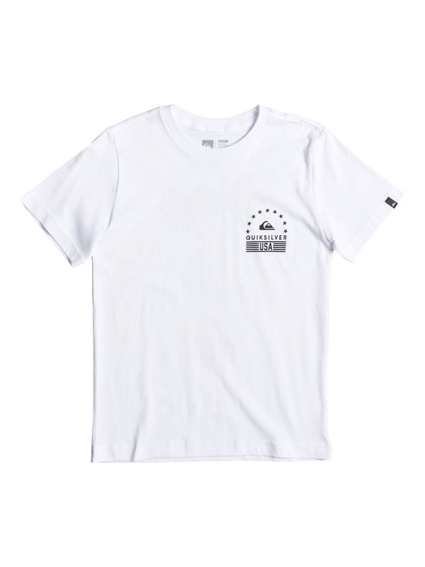 0 Boy's 8-16 Peace Palms Tee  AQBZT03221 Quiksilver