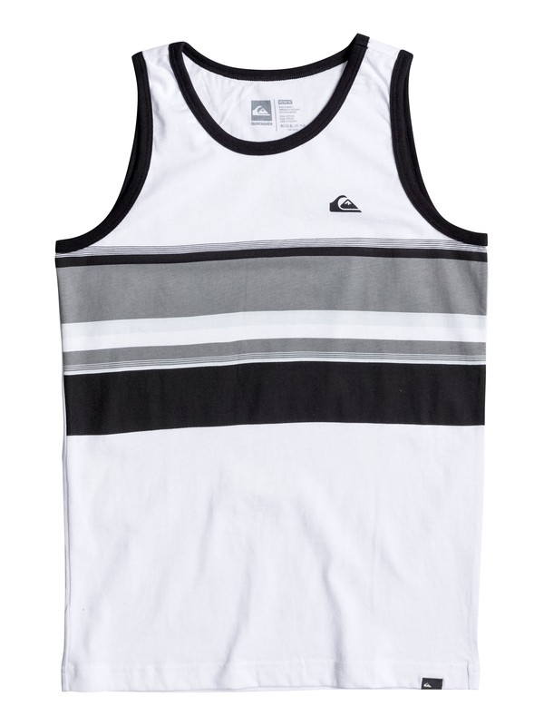 0 Boy's 8-16 Swell Vision Tank  AQBZT03226 Quiksilver