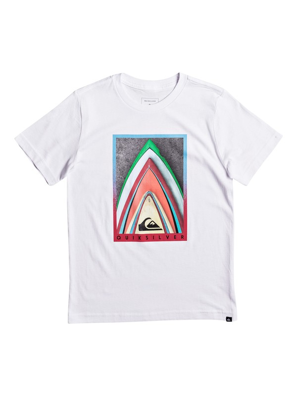 0 Boy's 8-16 Stacked Tee  AQBZT03238 Quiksilver