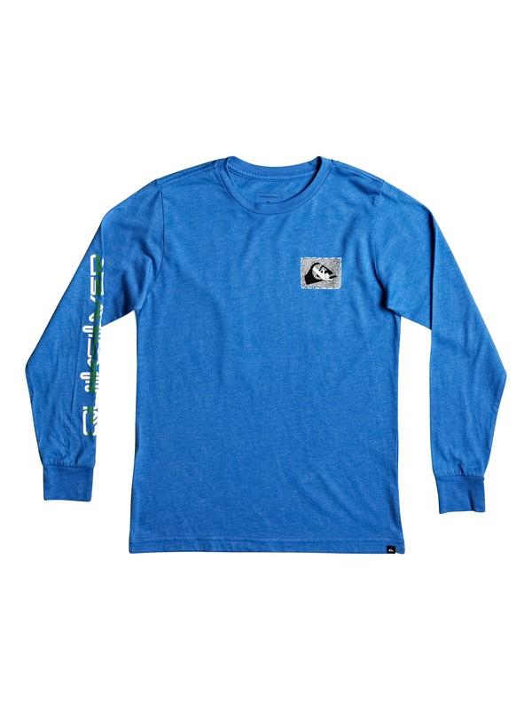 0 Boy's 8-16 Shakka Long Sleeve Tee  AQBZT03258 Quiksilver