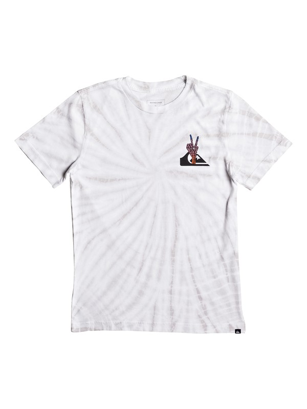 0 Boy's 8-16 Peace Cave Tee  AQBZT03267 Quiksilver