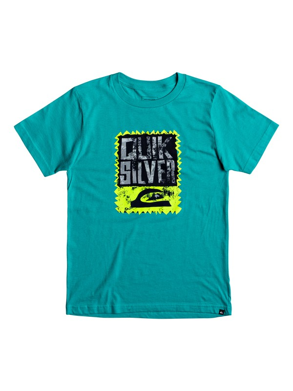 0 Boy's 8-16 Awaken The Vibes Tee  AQBZT03296 Quiksilver