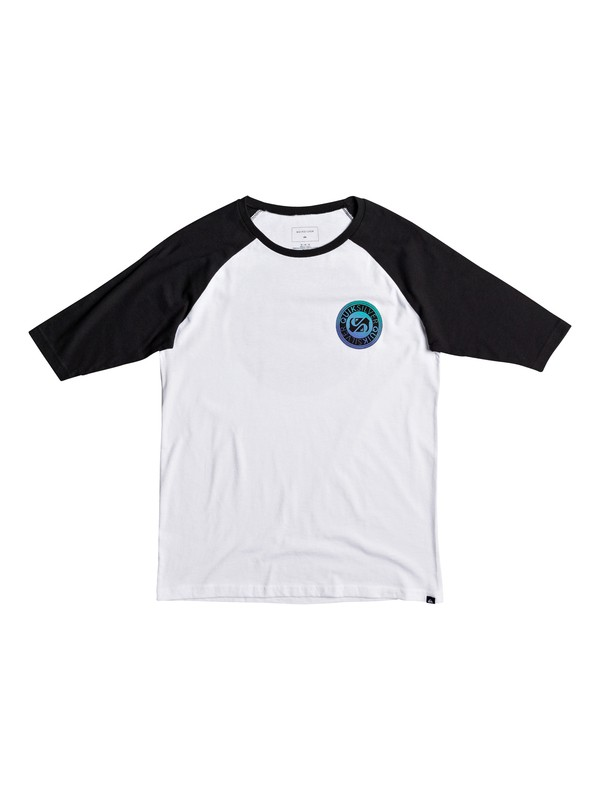 0 Boy's 8-16 International Ragan 3/4 Sleeve Tee  AQBZT03304 Quiksilver