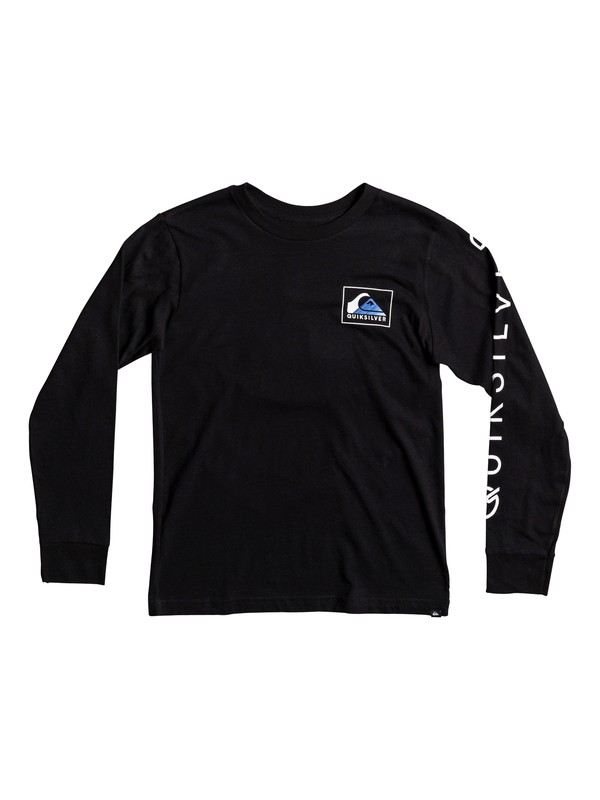 0 Boy's 8-16 Hold Down Long Sleeve Tee  AQBZT03306 Quiksilver