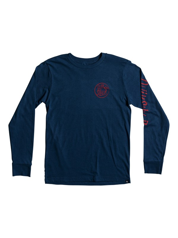 0 Boy's 8-16 Kool Shapes Long Sleeve Tee  AQBZT03307 Quiksilver
