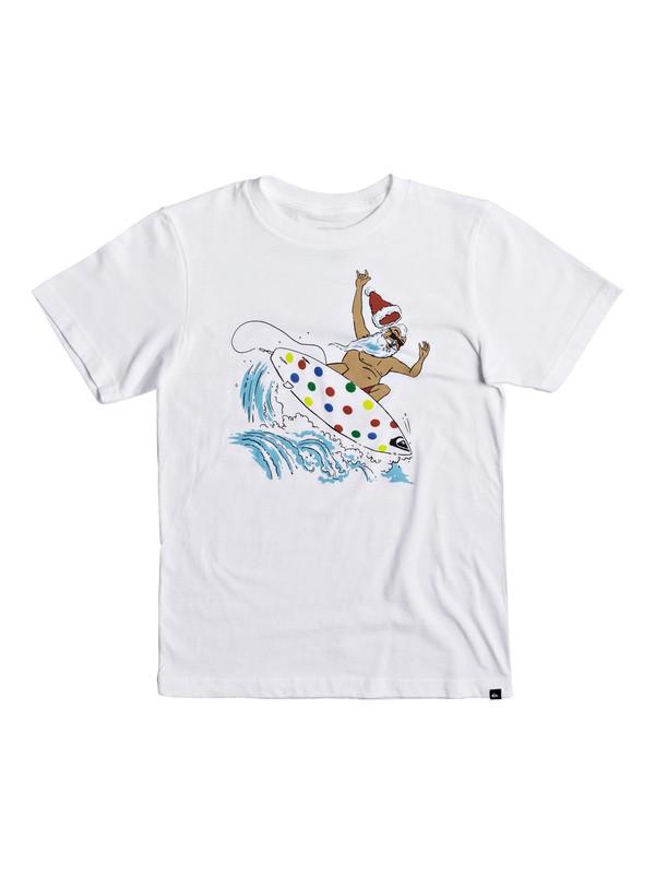 0 Niños 8-16 Camiseta Santa Shredder  AQBZT03315 Quiksilver