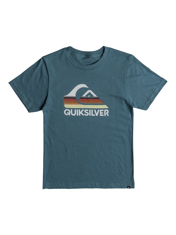 0 Boy's 8-16 Waves Ahead Tee  AQBZT03322 Quiksilver
