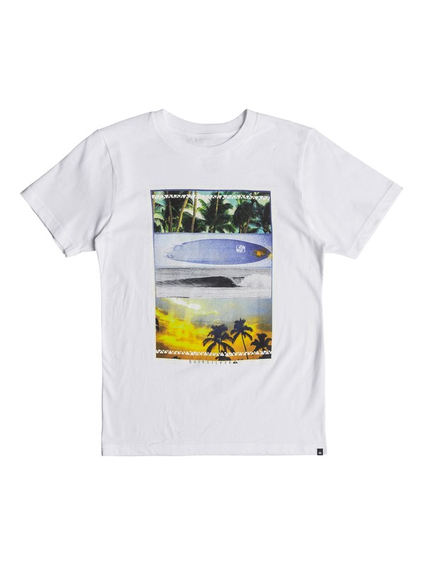 0 Boys 8 -16 Place To Be Tee  AQBZT03327 Quiksilver