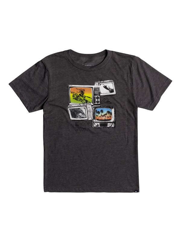 0 Boys 8 -16 Super TV Tee  AQBZT03331 Quiksilver