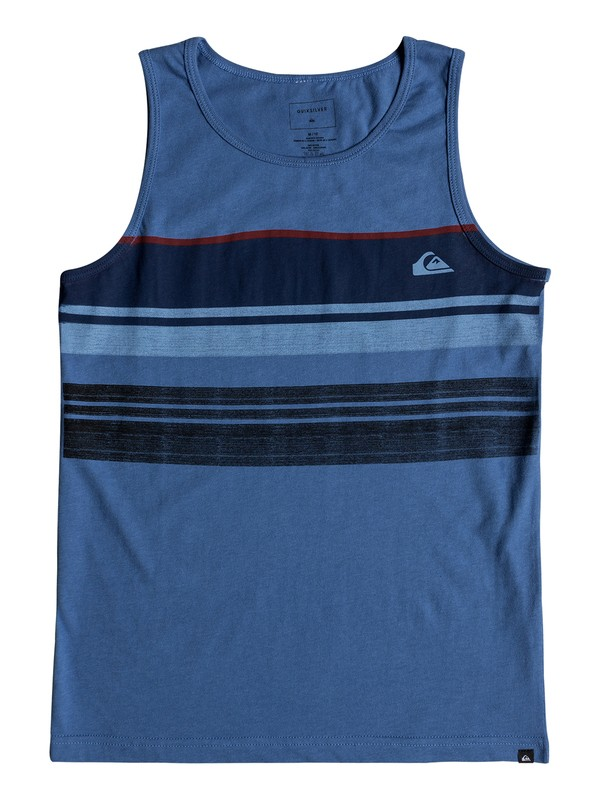 0 Boys 8 -16 Swell Vision Tank  AQBZT03337 Quiksilver