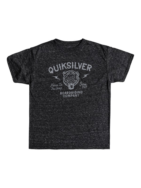 0 Boys 8 -16 Old Cat Vibe Tee Black AQBZT03338 Quiksilver