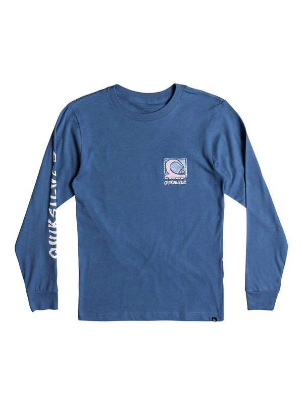 0 Boy's 8-16 Dens Way Long Sleeve Tee  AQBZT03340 Quiksilver