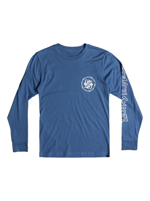 0 Critical Dates - Long Sleeve T-Shirt  AQBZT03341 Quiksilver