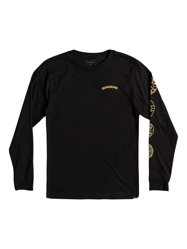 0 Boys 8 -16 Next Steps Long Sleeve Tee  AQBZT03361 Quiksilver