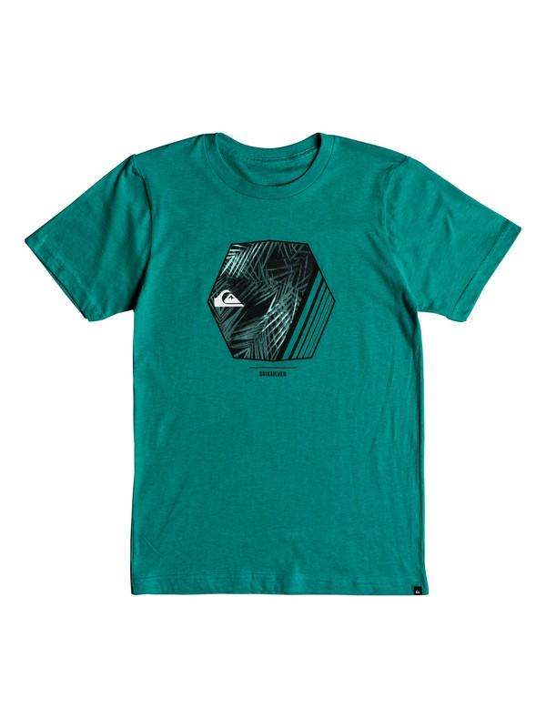 0 Boys 8-16 Wild Vision - T-Shirt Blue AQBZT03364 Quiksilver