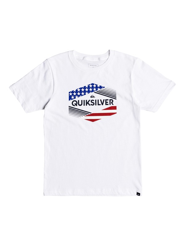 0 Boys 8-16 Stars & Stripes - T-Shirt  AQBZT03372 Quiksilver