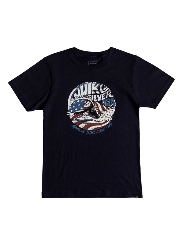 0 Boys 8-16 We Need You - T-Shirt Blue AQBZT03373 Quiksilver