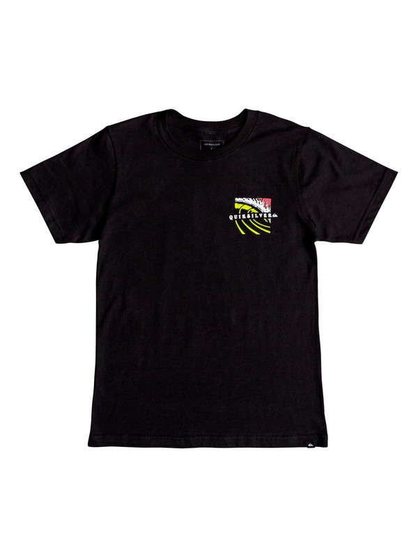 0 Boy's 8-16 Tropic Eruption Tee Black AQBZT03407 Quiksilver