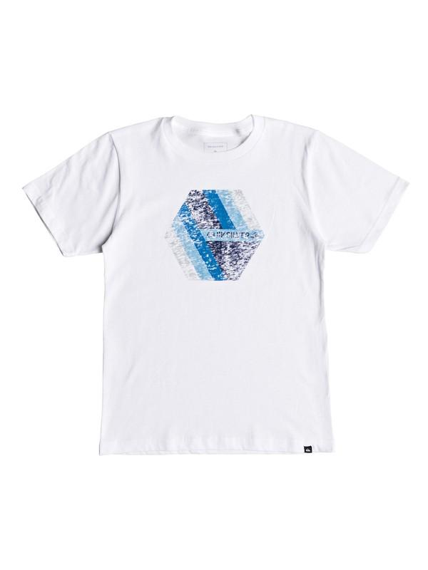 0 Niños 8-16 Camiseta Retro Right Blanco AQBZT03408 Quiksilver