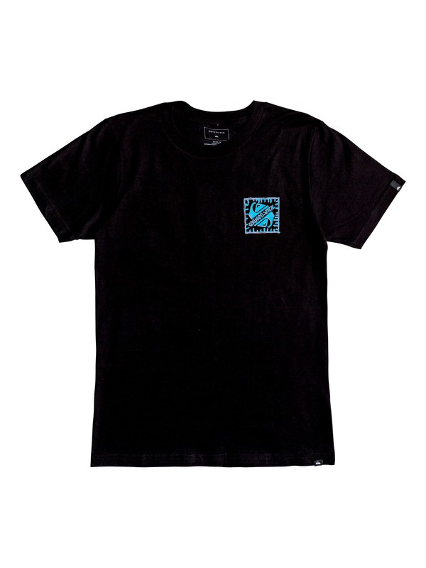 0 Boy's 8-16 Saved The Swell Tee Black AQBZT03410 Quiksilver