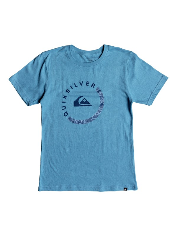 0 Boy's 8-16 Slab Session Tee Blue AQBZT03412 Quiksilver