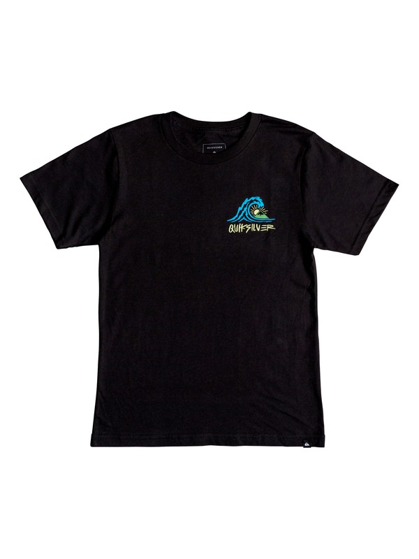 0 Boy's 8-16 Quik Start Tee Black AQBZT03416 Quiksilver