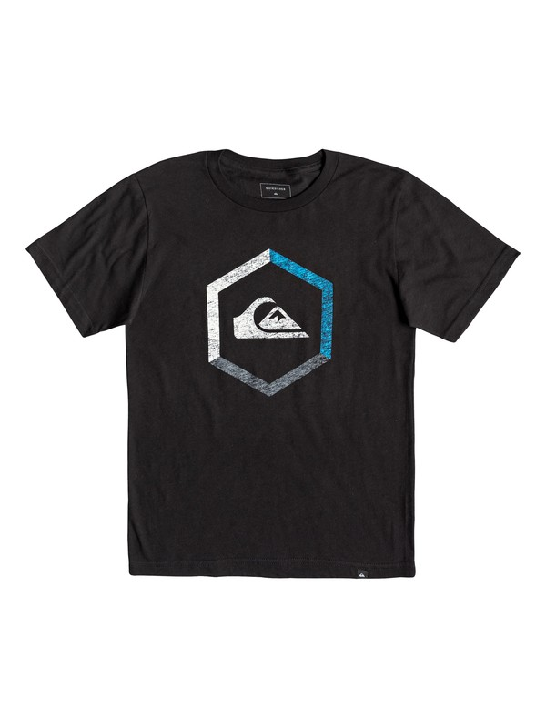 0 Boy's 8-16 Multi Hex Tee Black AQBZT03458 Quiksilver
