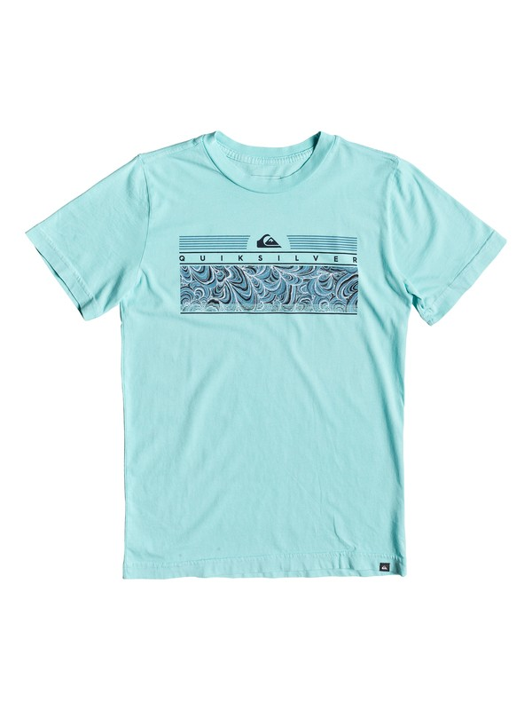 0 Boy's 8-16 The Jungle Tee Blue AQBZT03513 Quiksilver