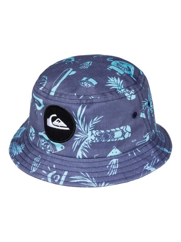 0 Gunther - Bucket Hat Blue AQIHA03066 Quiksilver