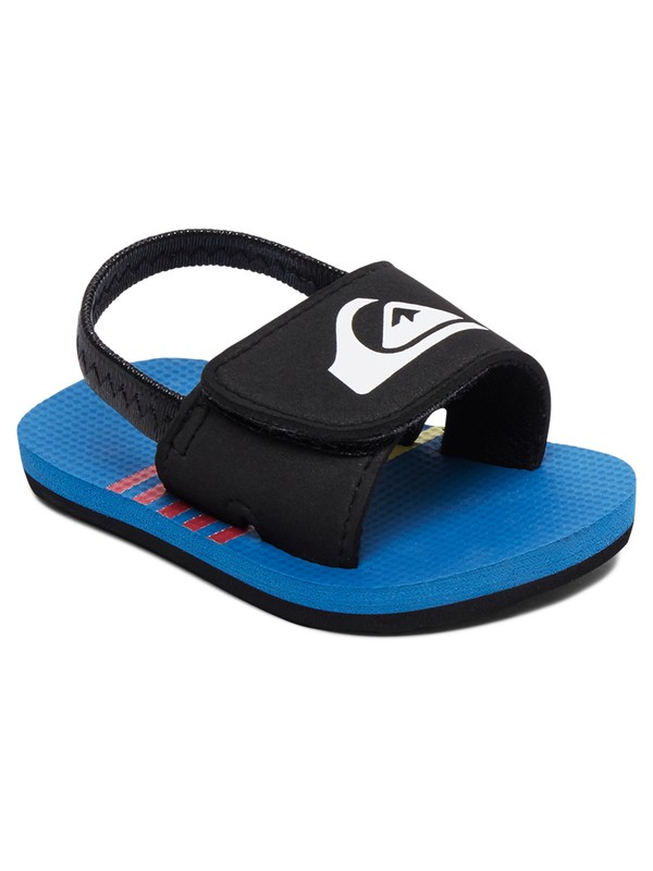 0 Baby Molokai Layback Slip-On Sandals Blue AQIL100007 Quiksilver