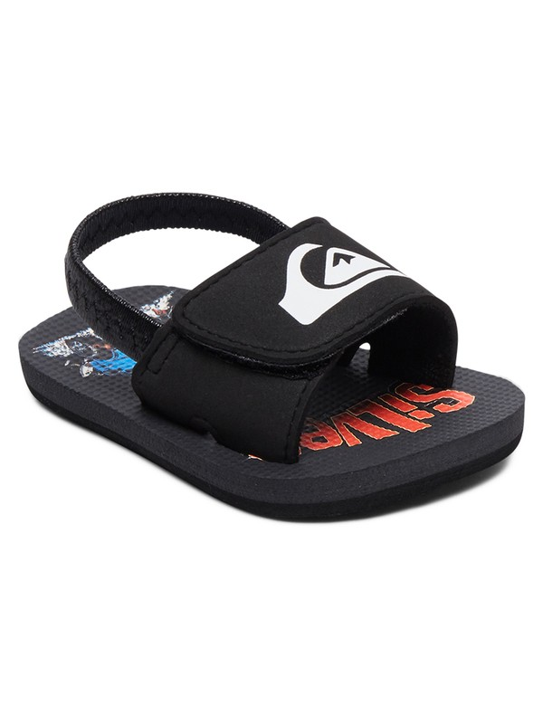 0 Baby Molokai Layback Slip-On Sandals Black AQIL100007 Quiksilver