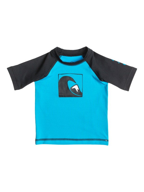 0 Main Peak - Short Sleeve Rash Vest  AQIWR03000 Quiksilver