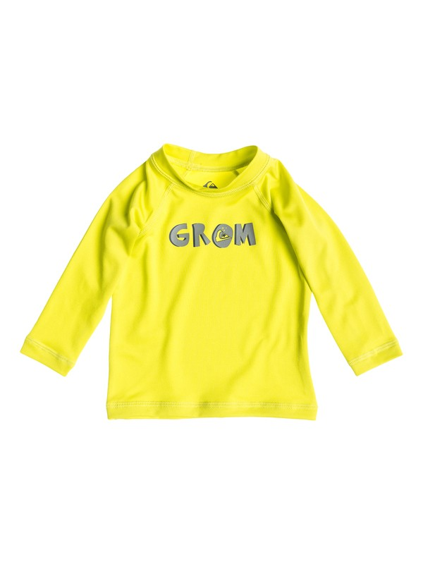 0 Grom Long Sleeve - Lycra manches longues  AQIWR03005 Quiksilver