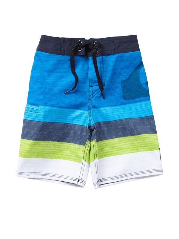 0 Boys 2-7 Kelly Boardshorts  AQKBS00082 Quiksilver