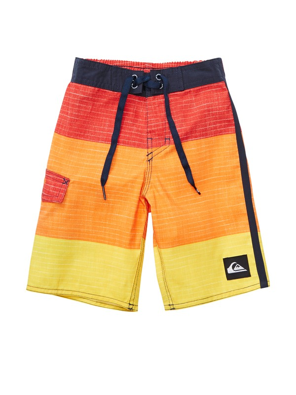 0 Boys 2-7 Sliced Boardshorts  AQKBS00086 Quiksilver