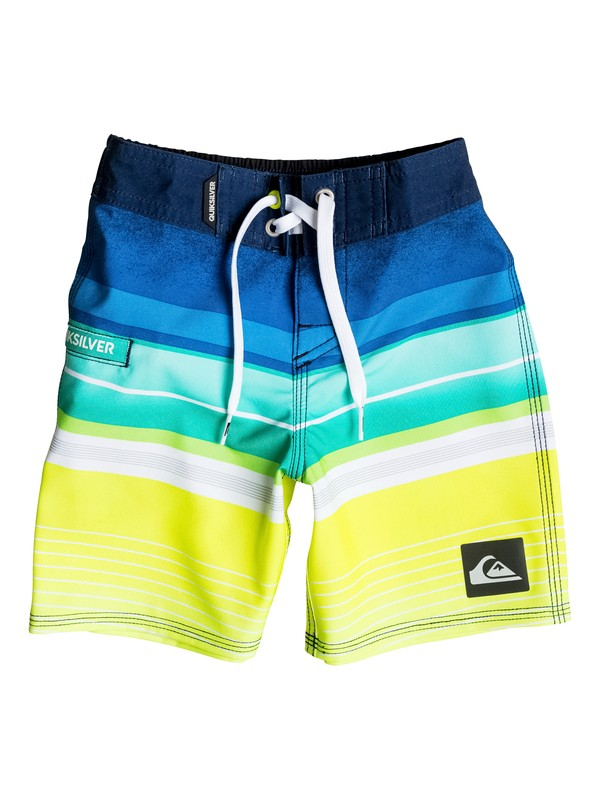 "0 Boys 4-7 Everyday Stripe 19"" Boardshorts  AQKBS03024 Quiksilver"