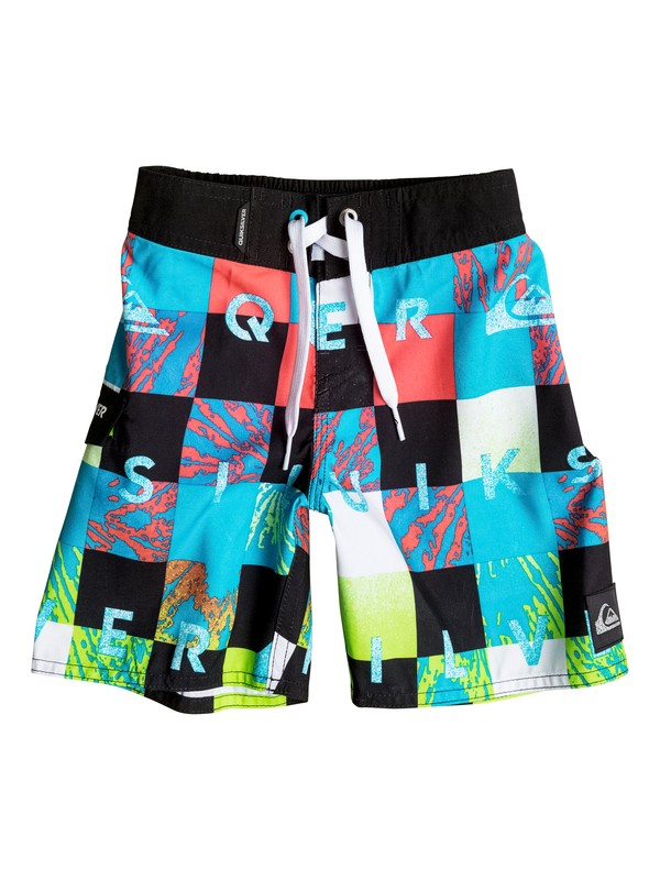 "0 Check Remix 19"" - Board Shorts  AQKBS03035 Quiksilver"